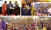 Pastorenseminar und Heilungsversammlungen mit Schweißtüchern in Sri Lanka, Ägypten und Pakistan