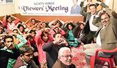 인도 GCN TV 힌디어 시청자 모임 열려