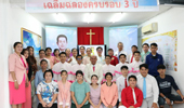 태국 방콕만민농아교회 창립 3주년 기념 예배 및 축하