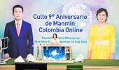 랜선 콜롬비아만민교회  창립 9주년 기념 예배